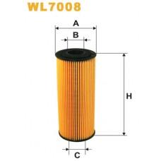 Масляный фильтр. AUDI, VW (WIX-Filtron) WL7008/OE640/1